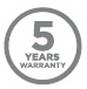 официальная гарантия 5 лет
